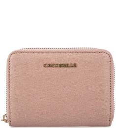 Кожаный кошелек на молнии Coccinelle