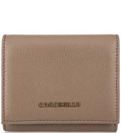 Кожаный кошелек на кнопке Coccinelle