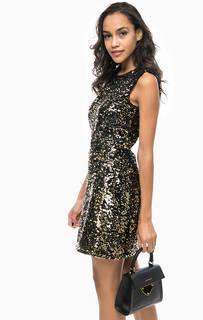 Платье с отделкой пайетками и открытой спиной Marciano Guess