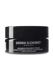 """Восстанавливающий  ночной крем """"Нейро-пептид и фиалка"""", 60 ml Grown Alchemist"""