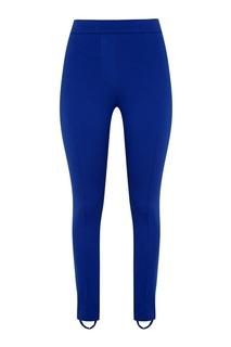 Синие спортивные брюки Blank.Moscow