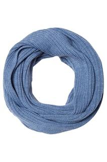 Голубой шарф Blank.Moscow