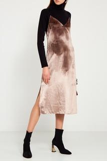 Бархатное платье-комбинация Rag&Bone
