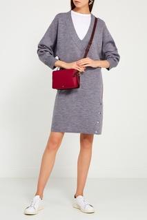 Трикотажное платье из шерсти и хлопка Rag&Bone