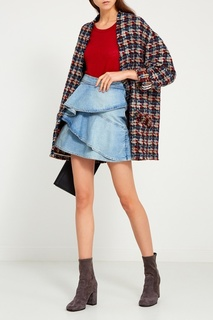 Джинсовая юбка с воланами Isabel Marant Etoile