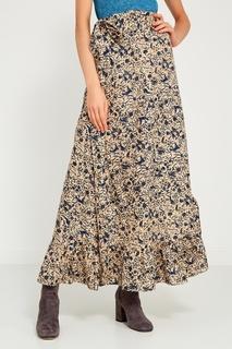 Льняная юбка с цветочным принтом Isabel Marant Etoile