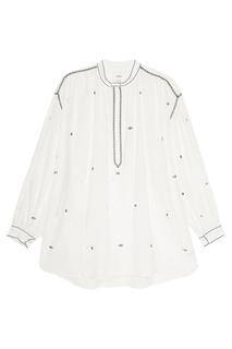 Хлопковая блузка с вышивкой Isabel Marant Etoile