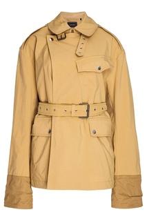 Куртка песочного цвета Isabel Marant