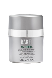 Крем увлажняющий для лица и контура глаз для сухой кожи Nutrifill, 50 ml Bakel