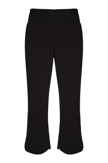 Черные укороченные брюки Prada