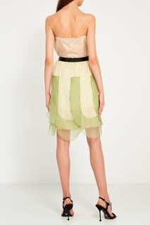 Шелковая юбка Prada