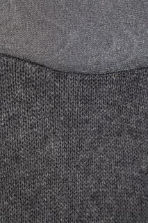 Серый кашемировый джемпер Prada
