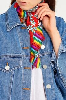 Шелковый платок в китайском стиле Gucci