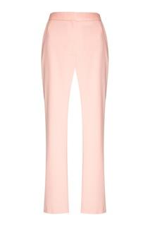 Шерстяные брюки пудрового цвета Altuzarra