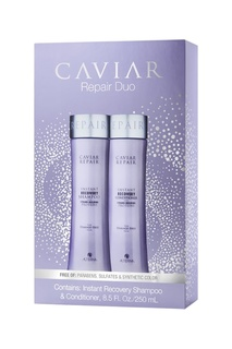 Набор «Быстрое восстановление» Caviar Repair Holiday Duo (шампунь+кондиционер), 250+250 ml Alterna