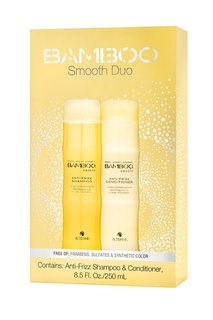 "Набор ""Сияние и блеск"" Bamboo Smooth Holiday Duo, 250+250 ml Alterna"