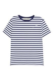 Хлопковая футболка в полоску Etre Cecile