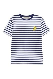 Хлопковая футболка с бананами Etre Cecile