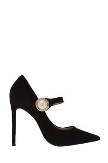Замшевые туфли с пряжкой Carvela Kurt Geiger