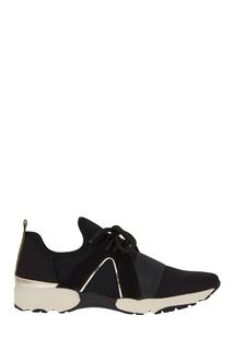 Черные текстильные кроссовки Carvela Kurt Geiger