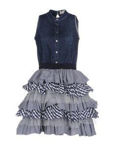 Короткое платье Elisabetta Franchi Jeans