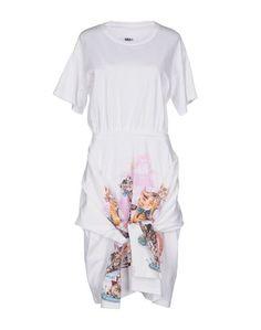 Платье до колена Mm6 Maison Margiela