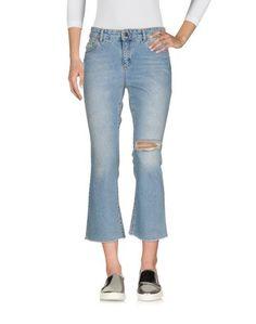 Джинсовые брюки-капри SET
