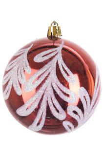 Шар новогодний, 6шт, 8 см Monte Christmas