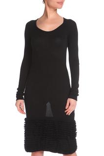 Полуприлегающее платье с длинными рукавами GF FERRE