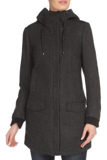 Шерстяное пальто с капюшоном CNC Costume National