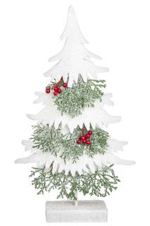 Декоративная елка с ягодами DUE ESSE CHRISTMAS
