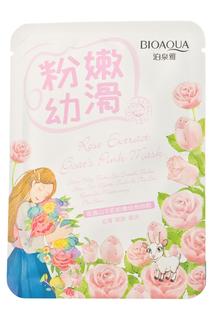Отбеливающая маска с розой BIOAQUA