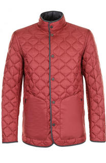 Двусторонняя стеганая куртка на кнопках Z Zegna