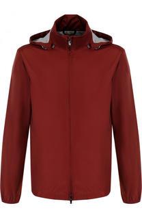 Куртка на молнии с капюшоном Z Zegna
