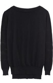Пуловер из смеси хлопка и льна с шелком Zimmerli