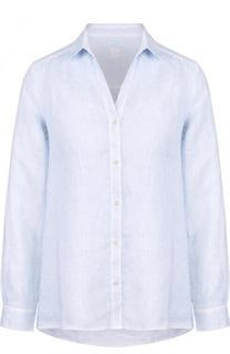 Однотонная льняная блуза 120% Lino