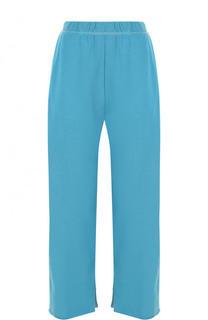 Хлопковые укороченные брюки с карманами Mm6