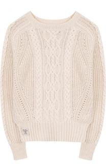 Пуловер фактурной вязки Polo Ralph Lauren