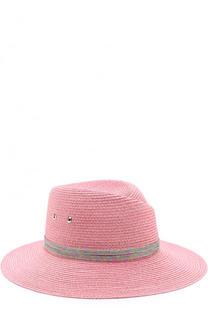 Шляпа Virginie с декоративной лентой Maison Michel