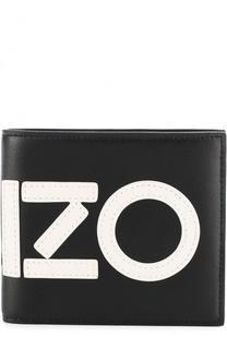 Кожаное портмоне с отделениями для кредитных карт Kenzo