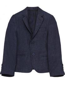 Однобортный льняной пиджак Dal Lago