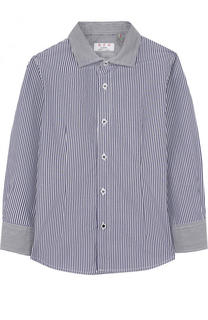 Хлопковая рубашка в полоску Aletta