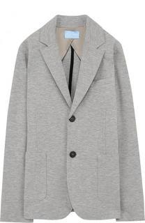 Однобортный пиджак джерси Lanvin
