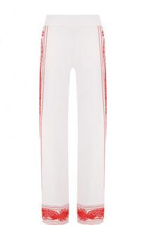 Расклешенные брюки с контрастной отделкой Roberto Cavalli