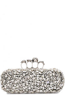 Клатч Knuckle Box Clutch Alexander McQueen