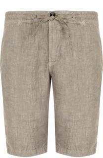 Льняные шорты с карманами Stone Island