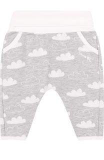 Хлопковые брюки с принтом Sanetta Fiftyseven