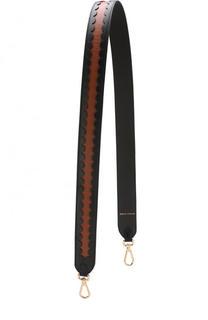 Кожаный ремень для сумки с принтом Coccinelle