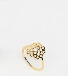 Позолоченное кольцо Orelia - Золотой