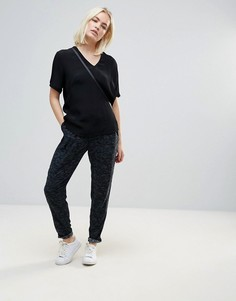 Мягкие брюки с принтом b.Young - Мульти